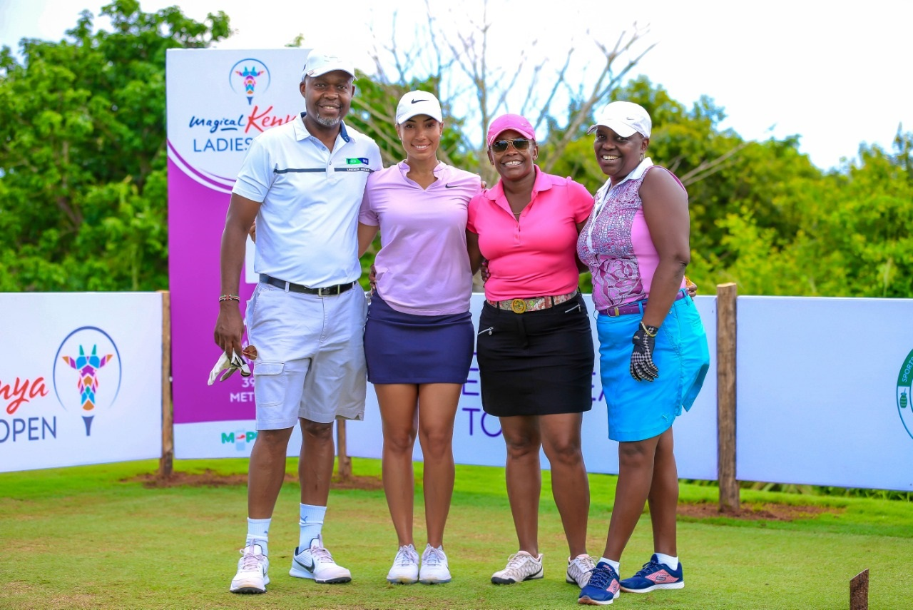 KCB CFO Keeps Chayenne Woods' Company as Magical Kenya Ladies Open Pro-am Tees Off
